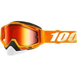 RiMoToShop Goggle MX Snow 100% CRSH DL MIR RD-100% ricambi per moto