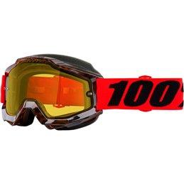 Maschera Snow Accuri VNDOME DL YL-26012562-100% ricambi per moto