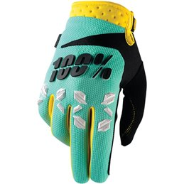 AIRMATIC SHORT GLOVES MINT 2X-LARGE
