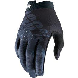 Guanti 100% modello ITRACK BK/GY Motocross enduro-33305688-100% ricambi per moto