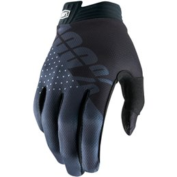 ITRACK SHORT GLOVES BLACK/CHARCOAL LARGE--33305688-100% ricambi