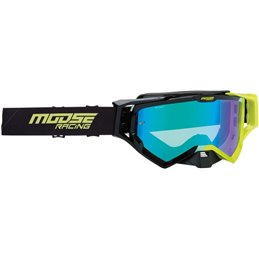Occhiali Motocross Enduro MOOSE XCRHATCH Nero/HIVZ-26012345-Moose racing