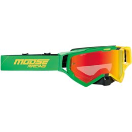 GOGGLE XCR HATCH GN/YL