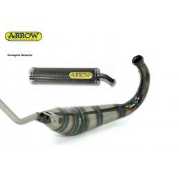 APRILIA RS 125 ARROW Espansione scarico + Silenziatore carbonio Kevlar