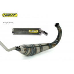 APRILIA RS 125 ARROW Exhaust Expansion + Kevlar Carbon