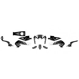 Kit grafiche adesivi YAMAHA FZ-8 2010 - 2014-501020-UP DESIGN
