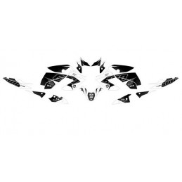 Graphics Kit Stickers YAMAHA XJ6 2010 2015 BLACK