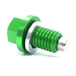 Tappo scarico olio magnetico Kawasaki KX 250 (96-08) verde