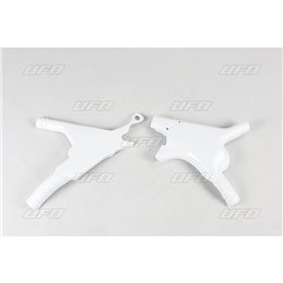 protezione telaio bianca HONDA CR 125 95-97