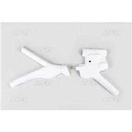 protezione telaio bianca HONDA XR 600 88-02
