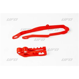 Kit cruna catena & Fascia forcellone nero HONDA CRF 450 R-X 02-04