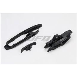 Kit cruna catena & Fascia forcellone nero HUSQVARNA FE 350 14-18