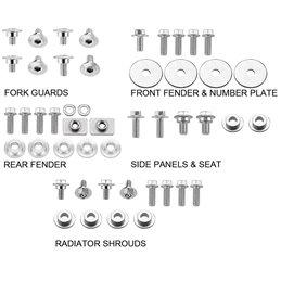 Kit viti plastiche Honda CRF 450 X 05-16-DS89.5103-NRTeam