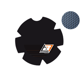 RiMoToShop|clutch cover protection sticker KTM 250 EXC-F 17-20-Blackbird Racing