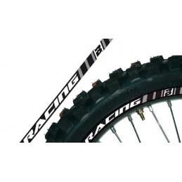 ADESIVI PER CERCHI RUOTA GRIGI blackbird racing MOTOCROSS