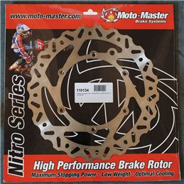 Disco freno posteriore nitro HONDA CRF250R 15-18-1711-0679-Moto Master