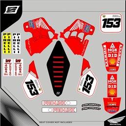 Grafiche personalizzate HONDA CRF 450 R-GRFK-191-Rimotoshop