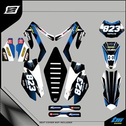 Graphiques personnalisés TM RACING EN/MX 250 CROSS