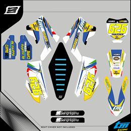 Custom graphics TM RACING EN/MX 250 F CROSS