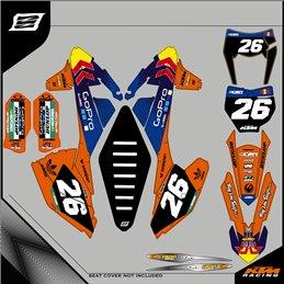 Custom graphics KTM EXC 690 Enduro-Street