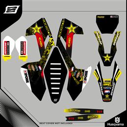 Grafiche personalizzate HUSABERG FC 450 Motocross-GRFK-271-Rimotoshop