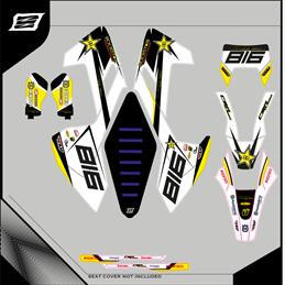 Custom graphics HUSABERG FC 550 Motocross