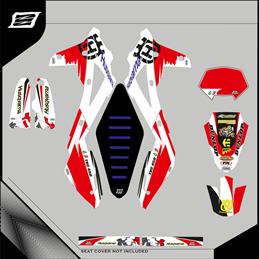 Custom graphics HUSQVARNA FE 450