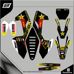 Graphiques personnalisés HUSABERG FX 450 Motocross