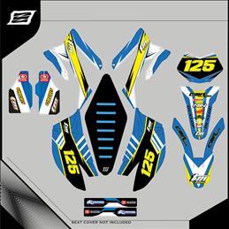 Custom graphics TM RACING SM R 250 MOTARD