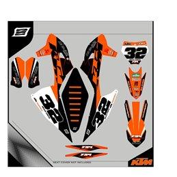 Custom graphics KTM SMC 625 Motard