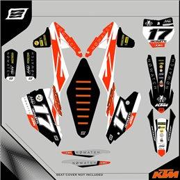 Grafiche personalizzate KTM Super moto 640 Motard-GRFK-317-Rimotoshop