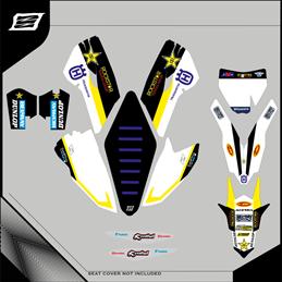 Custom graphics HUSQVARNA TC 125