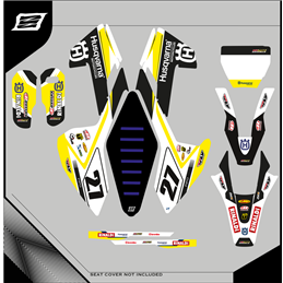 Custom graphics HUSQVARNA TE 250