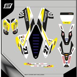 Custom graphics HUSQVARNA TE 350