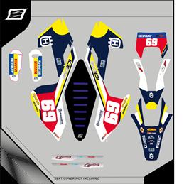Custom graphics HUSQVARNA TX 300