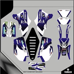 Custom graphics YAMAHA  YZ 125 CROSS