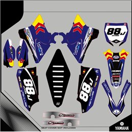 Custom graphics YAMAHA  YZ 250 CROSS