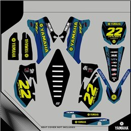 Custom graphics YAMAHA  YZ 250 F CROSS