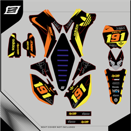 Custom graphics YAMAHA  YZ 360 CROSS
