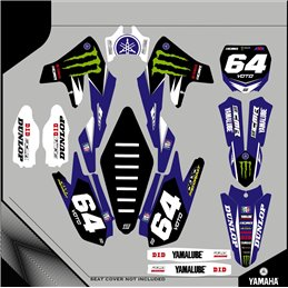 Custom graphics YAMAHA  YZ 426 F CROSS