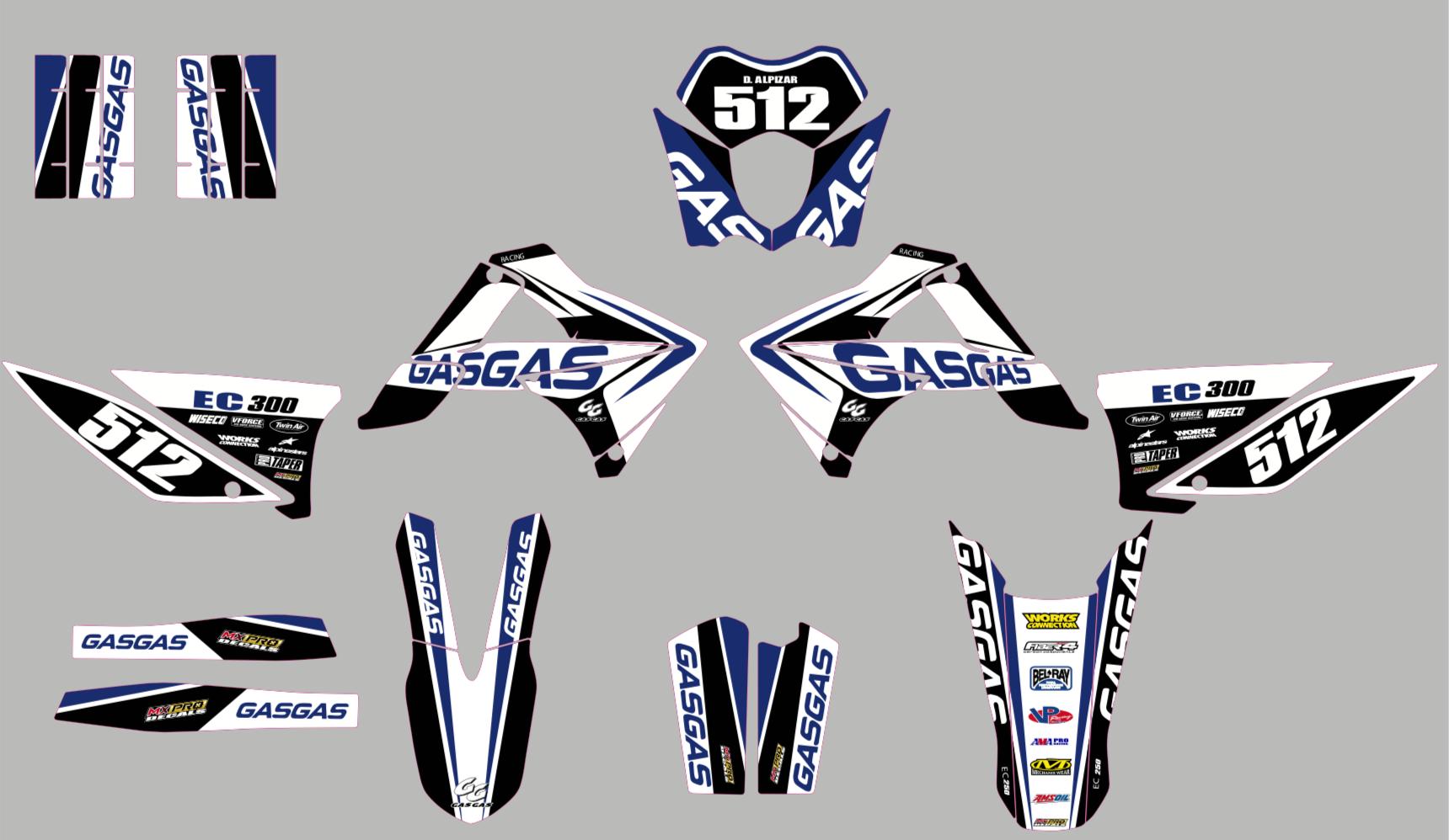 Grafiche-personalizzate-GASGAS-EC-250-F-RiMotoShop-Standard miniatura 5