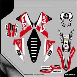 Custom graphics GASGAS EC 450 F