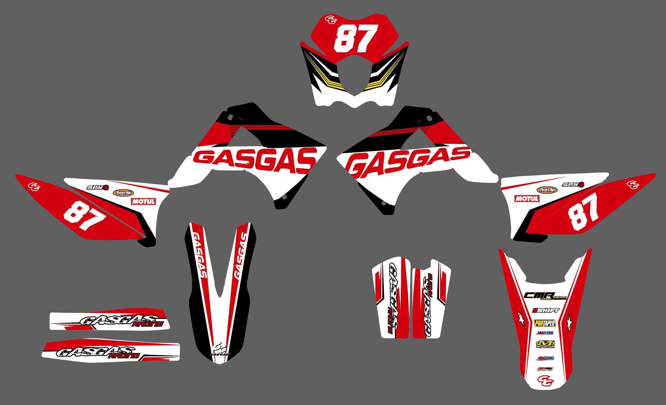 Grafiche-personalizzate-GASGAS-FS-400-RiMotoShop-Opaco miniatura 7