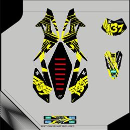 Custom graphics BETA RR 498
