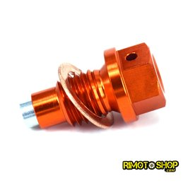 Tappo scarico olio magnetico KTM 125 EXC 1998-2016-RMT-KTM01-RiMotoShop