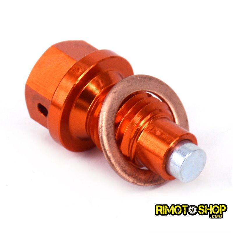 Tappo scarico olio magnetico KTM 350 EXC-F 2012-2018-RMT-KTM01-RiMotoShop