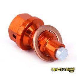 Tappo scarico olio magnetico KTM 350 SX-F 2011-2018-RMT-KTM01-RiMotoShop