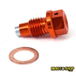 Tappo scarico olio magnetico KTM 520 SX-F 2000-2002-RMT-KTM01-RiMotoShop