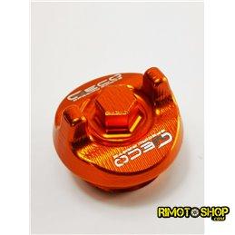 Tappo carico olio KTM 125 EXC 03-17 arancione-200.020.003-RiMotoShop