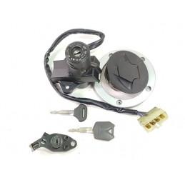 05 09 Kawasaki ER 6N kit chiavi cilindretto